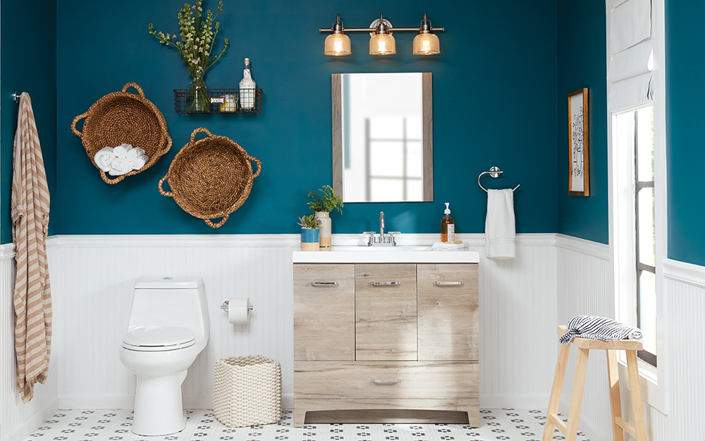 8 Small Bathroom Design Ideas The Home Depot