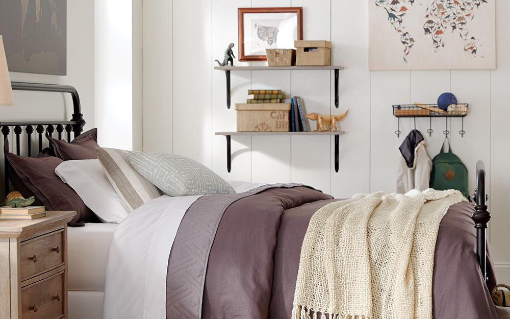 11 Simple Small Bedroom Ideas - The Home Depot