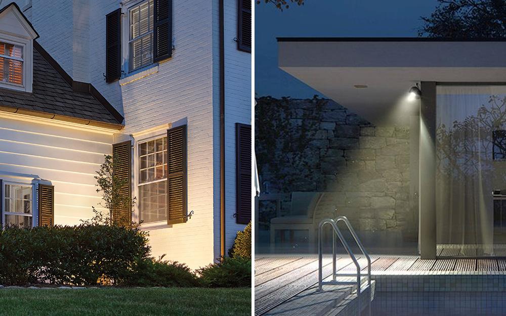 So sánh song song giữa đèn chiếu và đèn pha.