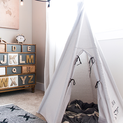 The Ultimate DIY Teepee for Kids