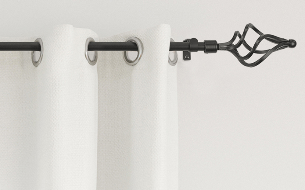 Types Of Curtain Rods The Home Depot