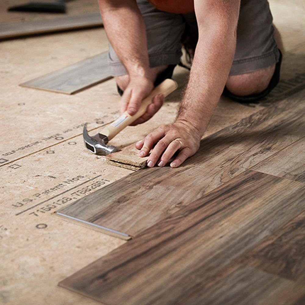 Types Of Flooring, Bathroom Laminate Flooring Home Depot