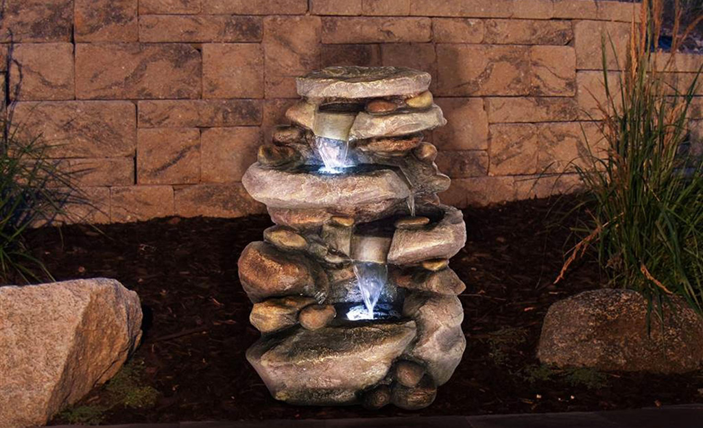 Types Of Fountains The Home Depot