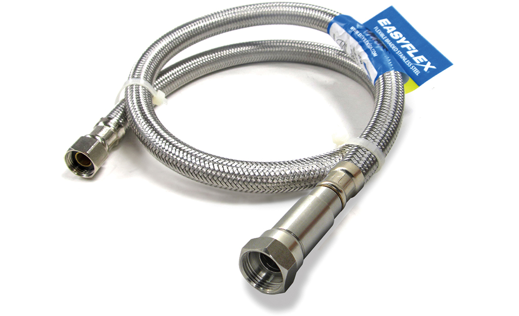 A supply line that prevents against flood damage.