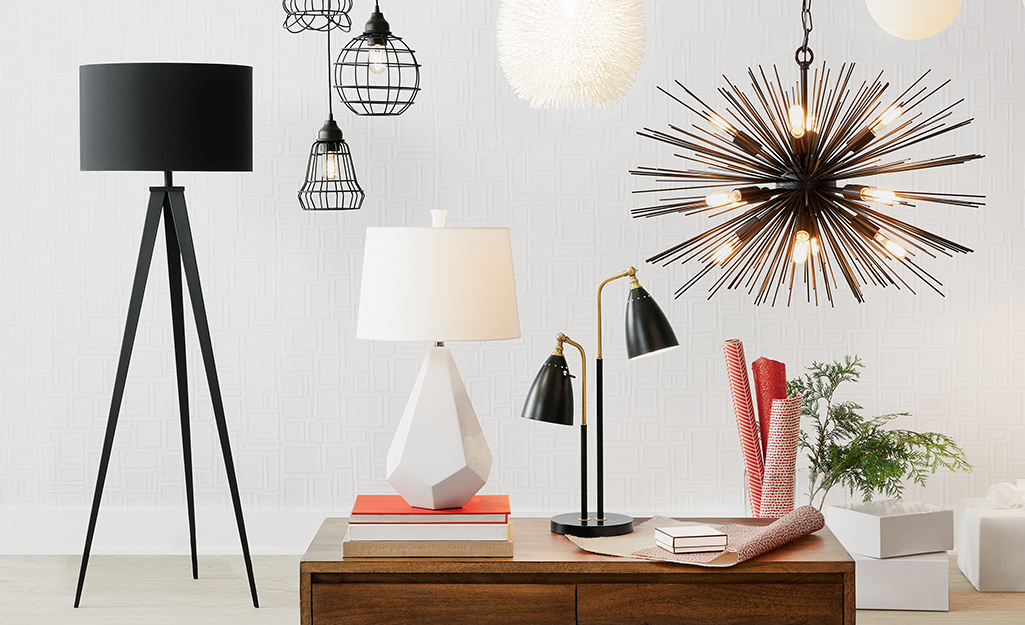 Types Of Lamps For The Living Room And