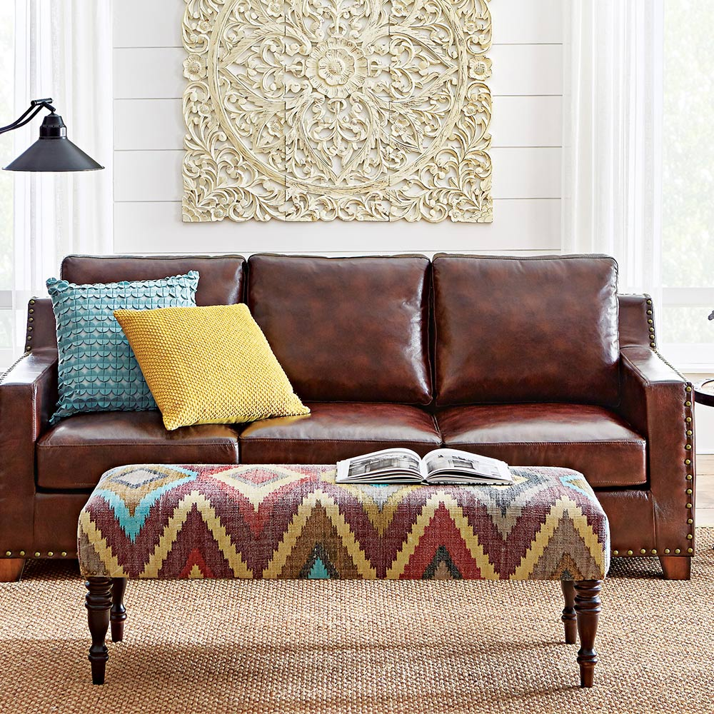 Types Of Leather For Furniture The