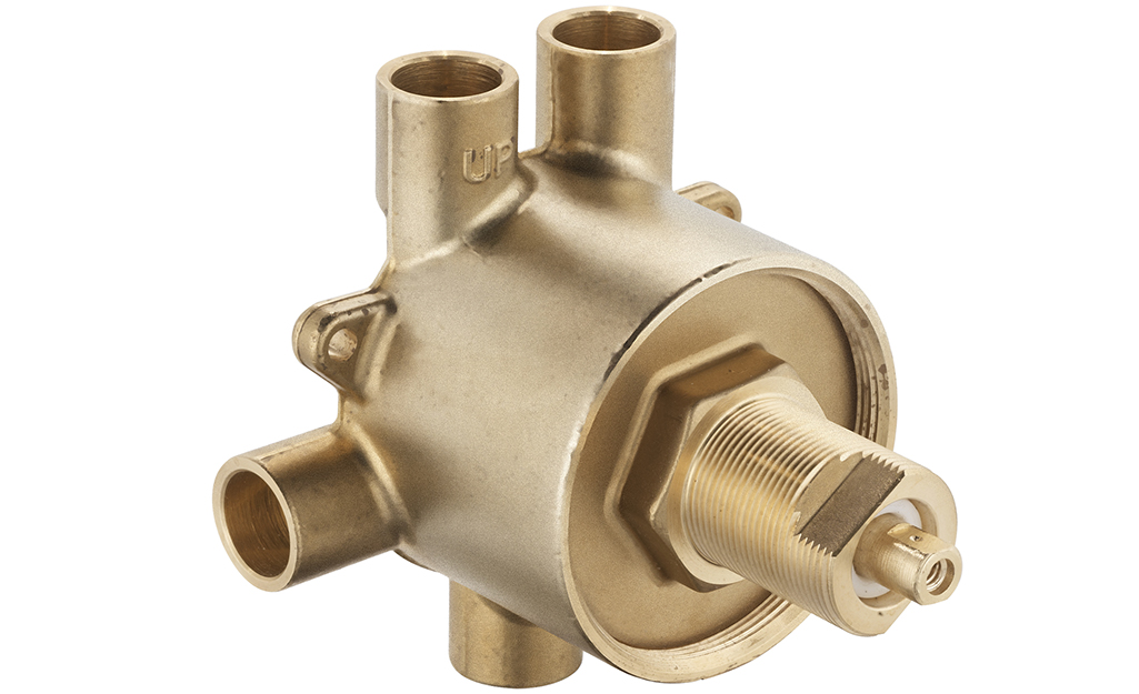 An example of a shower transfer valve.