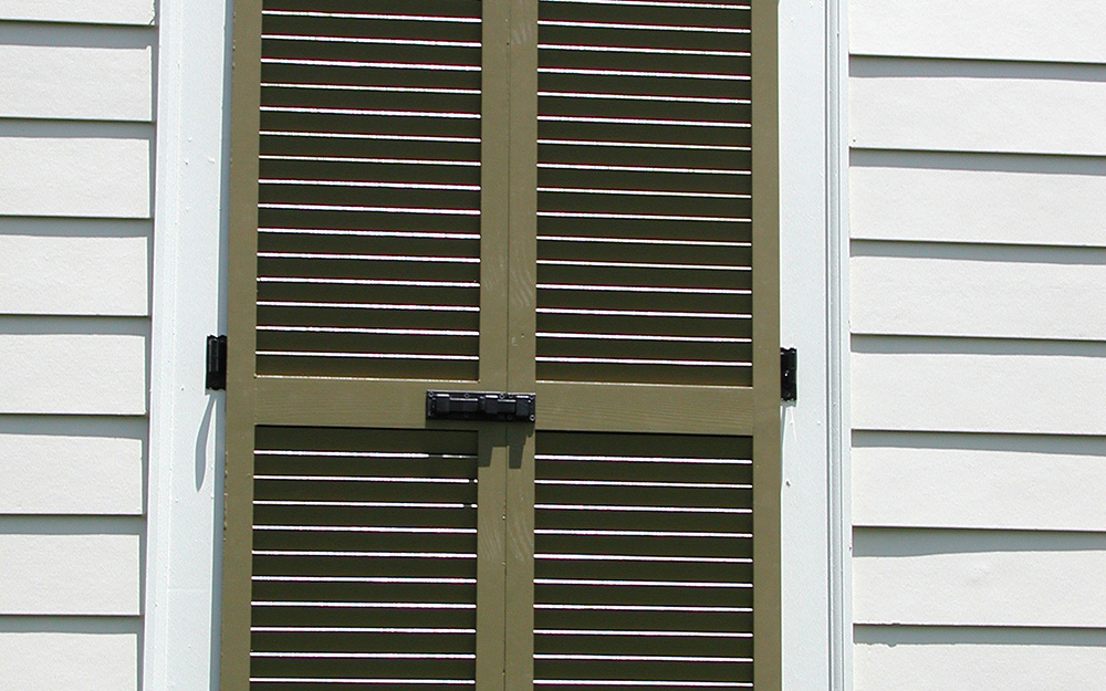 Types Of Shutters The Home Depot