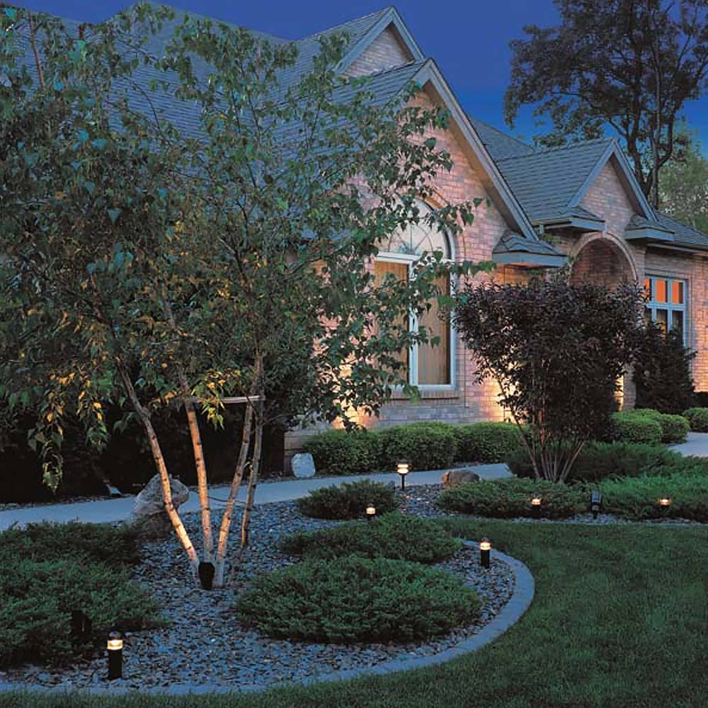 Landscape Tree Lighting Tips The Home