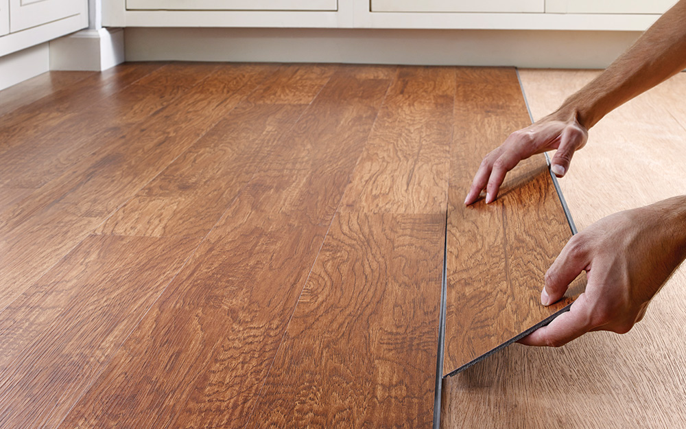 Types Of Vinyl Flooring The Home Depot