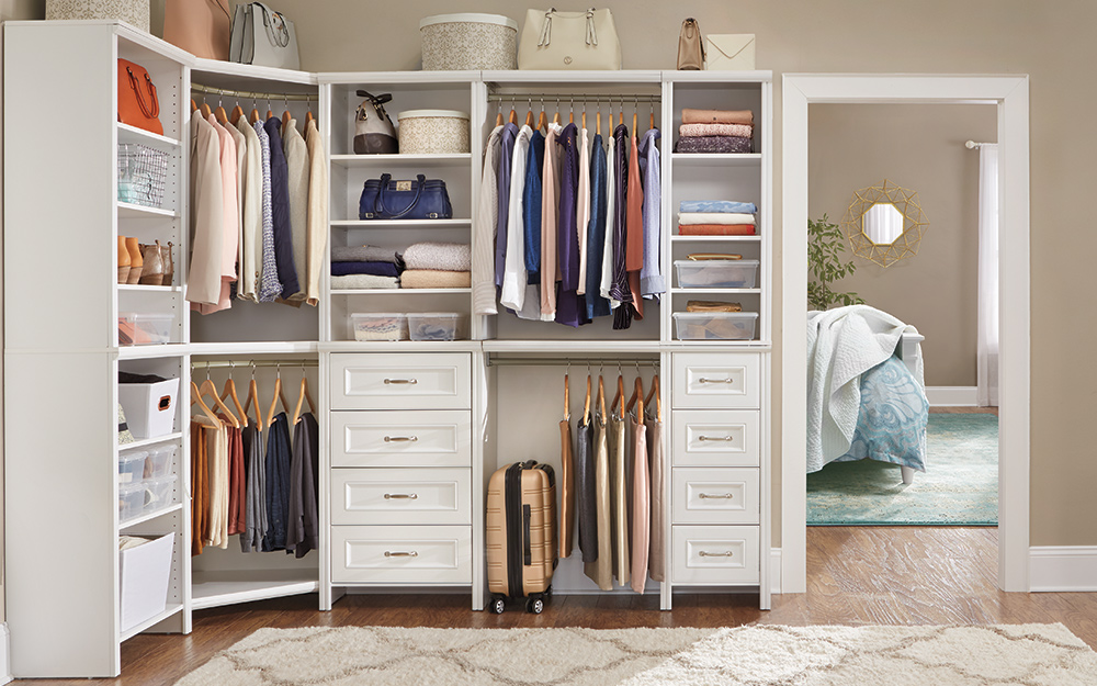 Walk In Closet Ideas The Home Depot