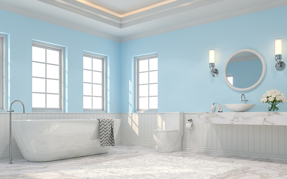 White Bathroom Ideas The Home Depot
