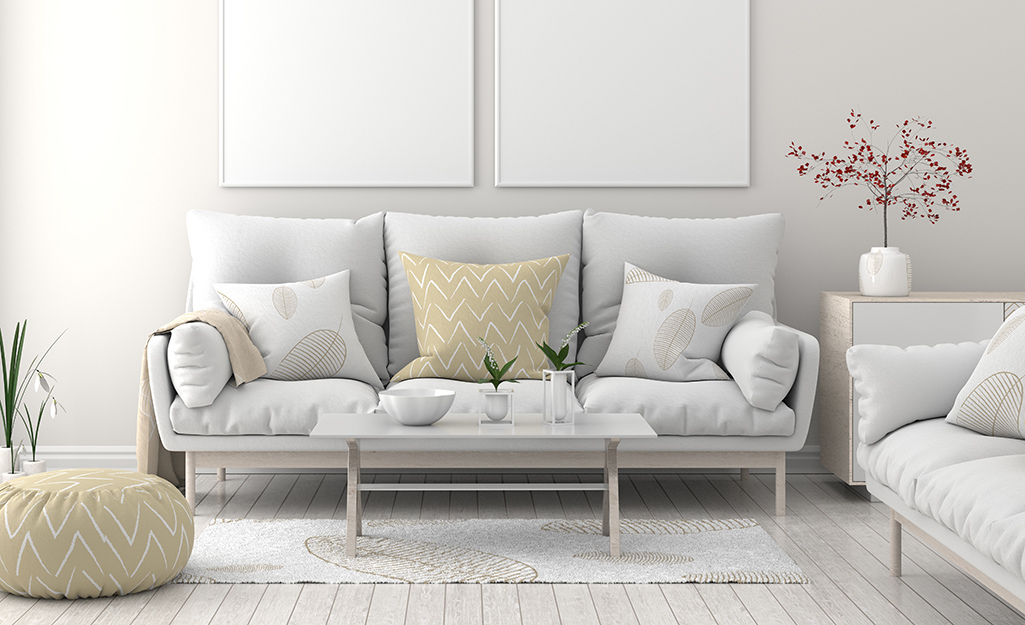 White Living Room Ideas - The Home Depot