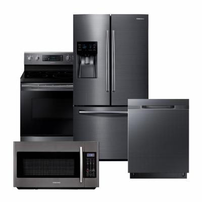 Stupendous Kitchen Appliance Packages The Home Depot Home Interior And Landscaping Analalmasignezvosmurscom