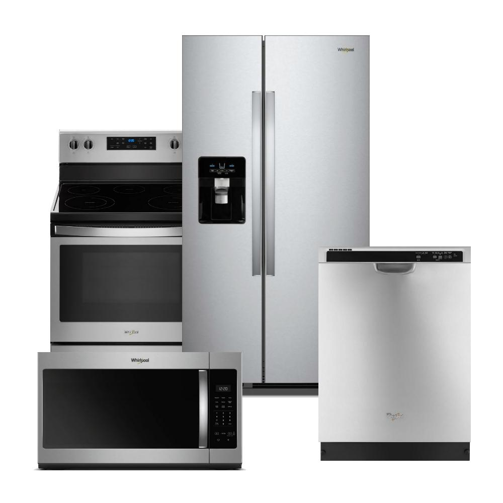 Pleasant Kitchen Appliance Packages The Home Depot Interior Design Ideas Helimdqseriescom