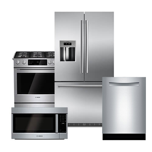 Bosch Stainless Steel Suite 3