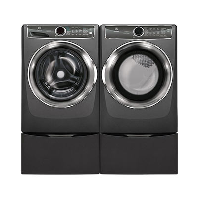 Electrolux Anium Finish 4 Cu Ft Steam Washer Or 8 0