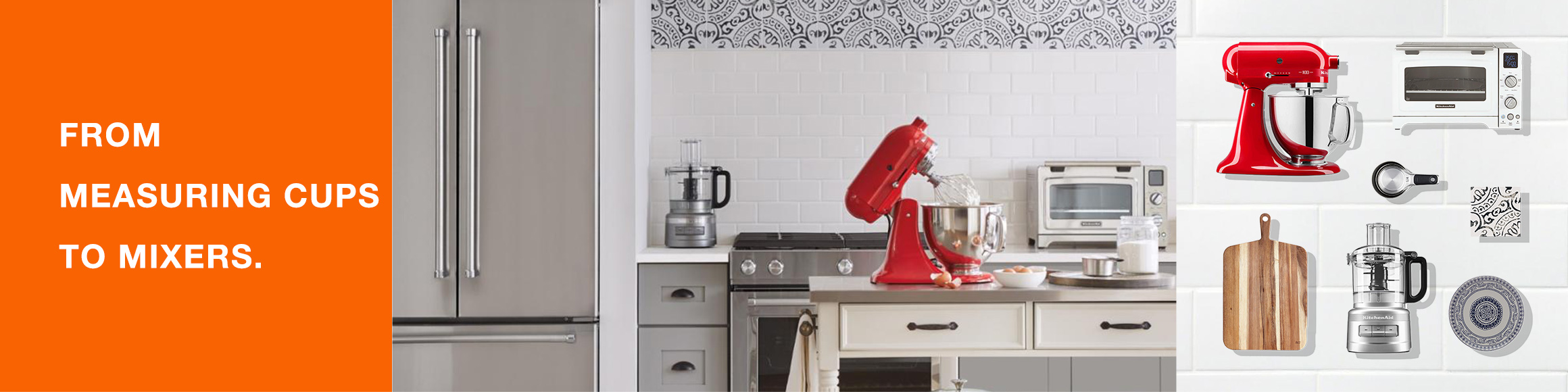 From Measuring Cups to Mixers.