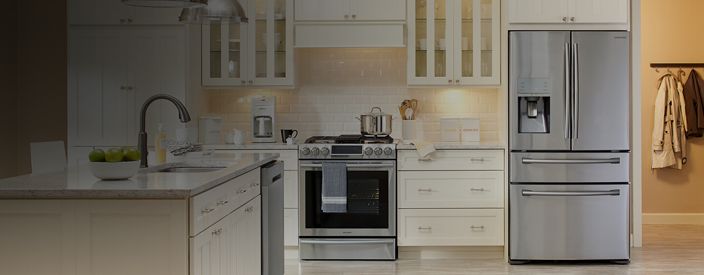 Up to 25% off with appliance Special Buys.** Valid 9/13–9/26/2018 on select Samsung, LG, Whirlpool and Maytag appliances.