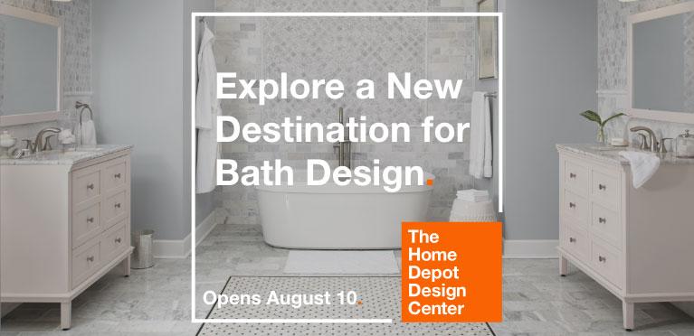 Bathroom Remodeling At The Home Depot: Bathroom Vanities, Bath Tubs & Faucets