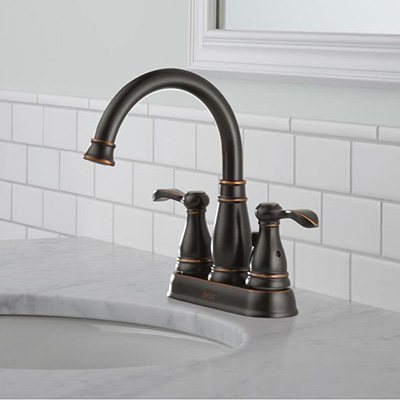 Centerset Sink Faucets Bathroom for Your  Shower Head and Bathtub The Home Depot