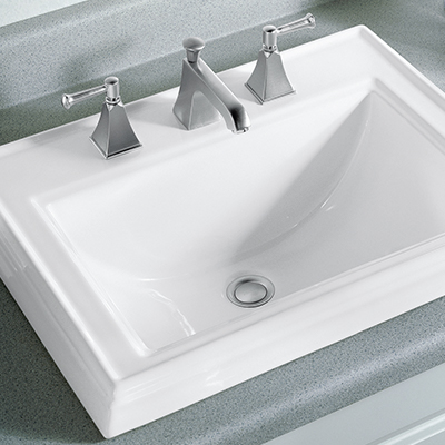 bathroom sink. Drop-in Sinks Bathroom Sink M