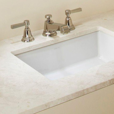 White Small Cabinet Vanity Sink for Bathroom With Faucet Drain and Supply  Lines 21951grid