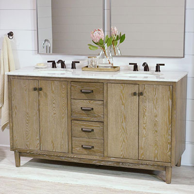 Rustic Bathroom Vanities