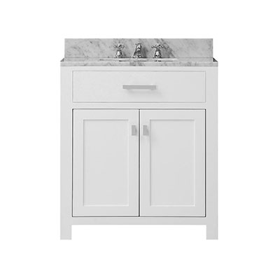 Awesome White Bathroom Vanities Decorating Ideas