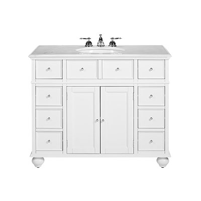 Trend White Bathroom Vanities Collection