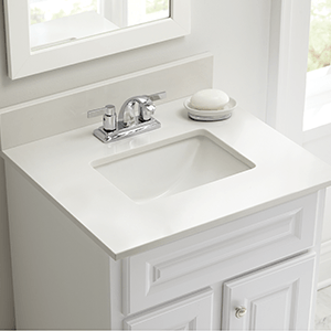 Elegant Single Sink Vanities