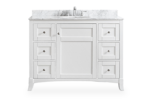 Shop Bathroom Vanities Vanity Cabinets At The Home Depot - 48 gray bathroom vanity