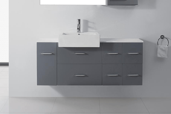 Modern Bathroom Vanities Shop  Vanity Cabinets At The Home Depot