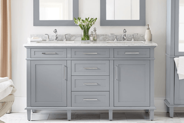 Transitional Bathroom Vanities Shop  Vanity Cabinets At The Home Depot