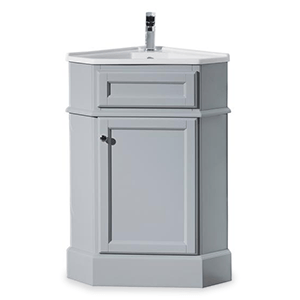 Corner Bathroom Vanity Shop Vanities  Cabinets At The Home Depot