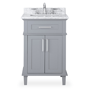 Lovely Standard Bathroom Vanities