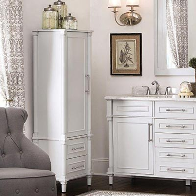 Bon Bathroom Linen Cabinets