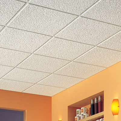 Ceiling Tiles Drop Ceiling Tiles Ceiling Panels The Home Depot - Ceiling tile repair kit
