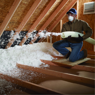 Insulation the home depot - How to blow insulation into exterior walls ...