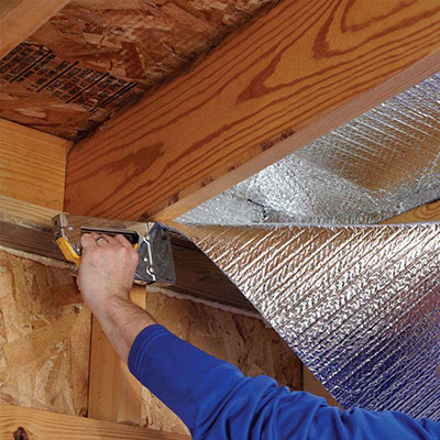 Radiant Barrier Insulation & Insulation - Insulation Materials at The Home Depot