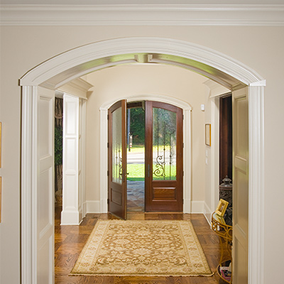 Interior arch trim for Architectural trim