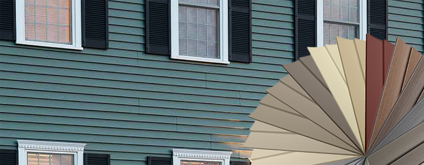 Siding vinyl siding and fiber cement siding at the home - Exterior materials for buildings ...