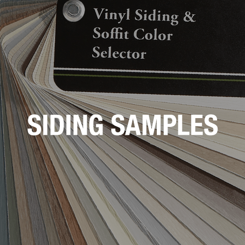Shop Siding Samples