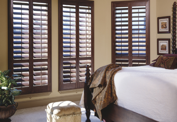 Plantation shutters at the home depot for Window shutters interior prices