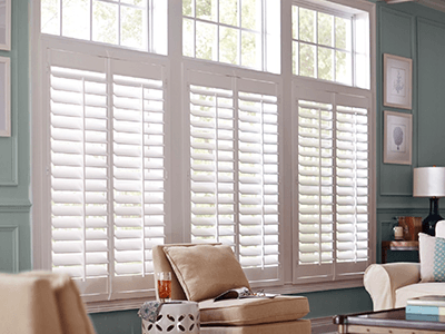 blinds for wide windows horizontal shutters window treatments at the home depot