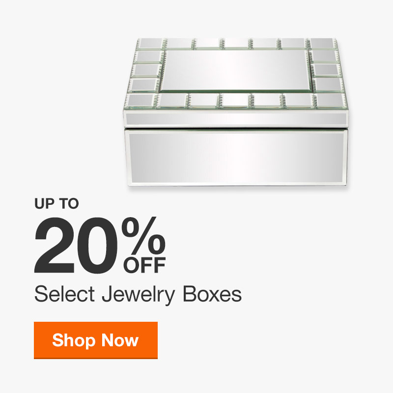 Up to 20% off Select Jewelry Boxes