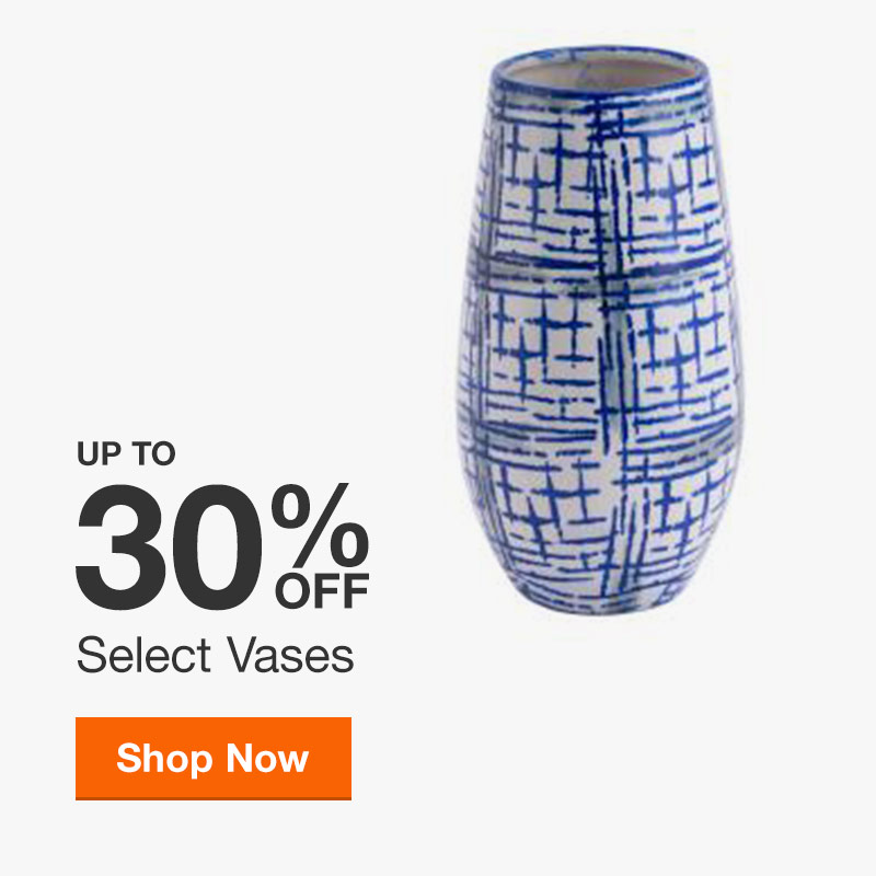 Up to 30% off Select Vases