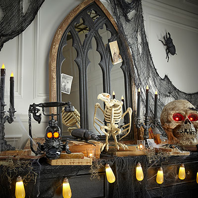 buy halloween decorations at the home depot. Black Bedroom Furniture Sets. Home Design Ideas