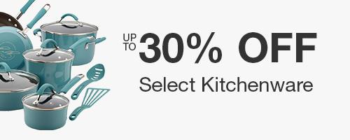 Up to 30% off Select Kitchenware