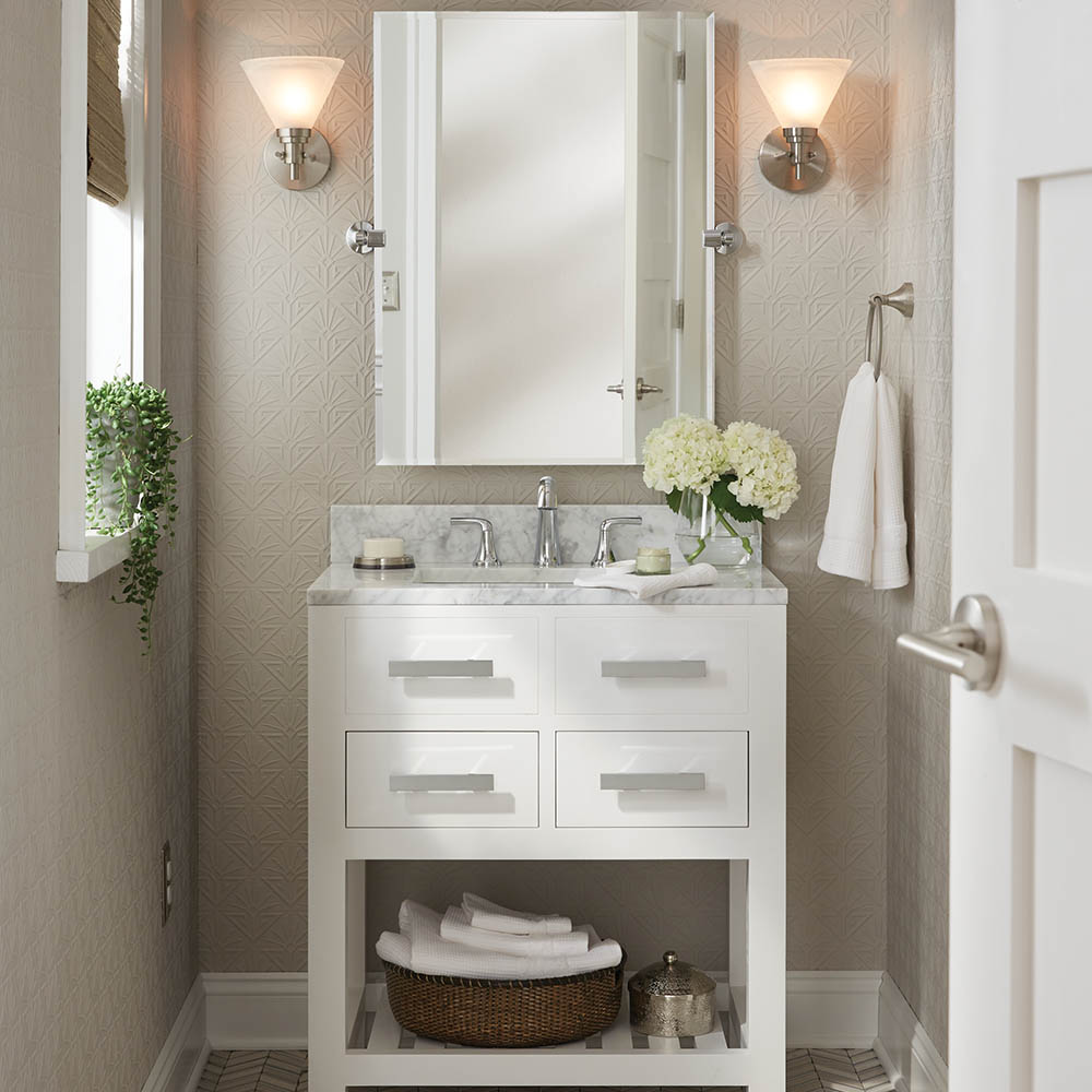 Small Apartment Bathroom Decor Ideas: Shop By Room At The Home Depot